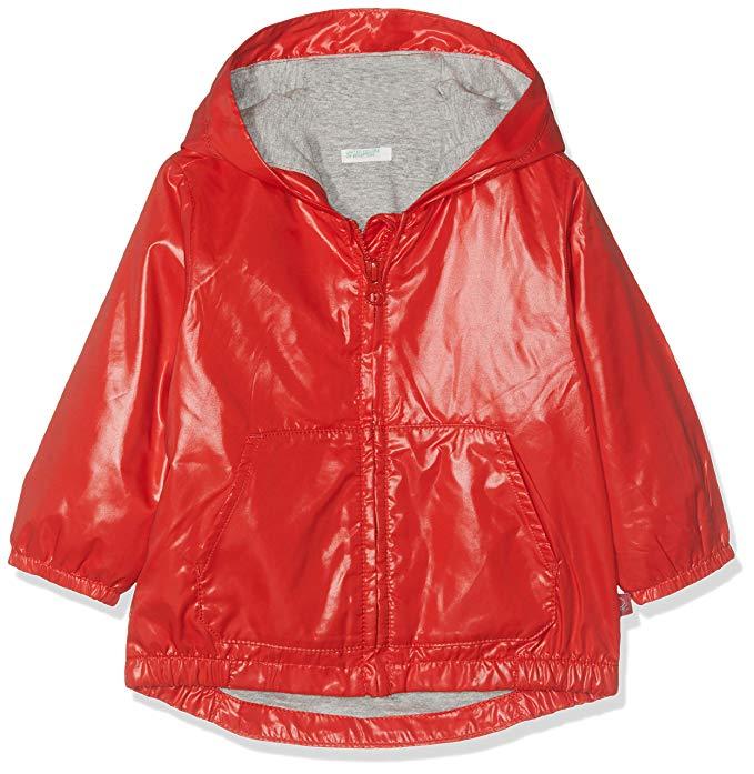 Benetton - Abrigo para bebés Rojo