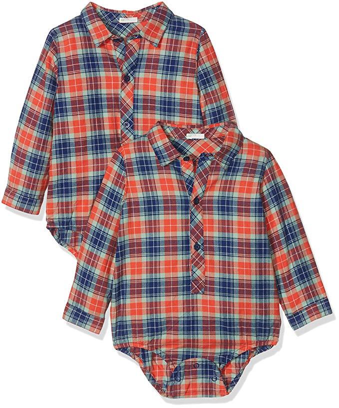 camisa a cuadros benetton para bebes