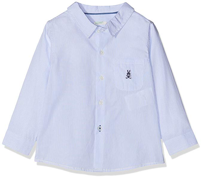 Benetton - Camisa de rayas para bebes