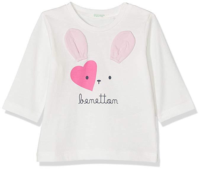 Benetton camiseta para bebes