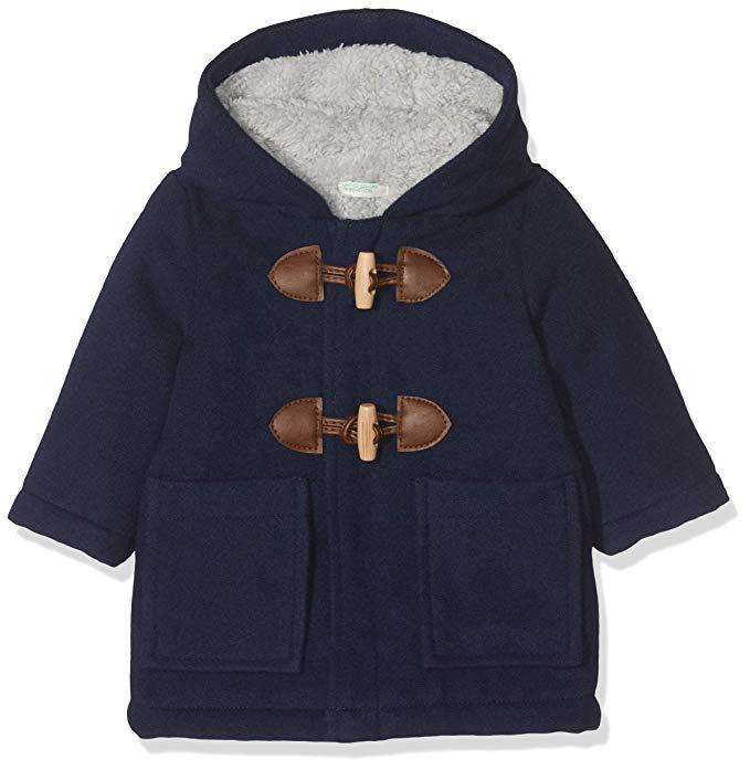 Abrigo con forro de benetton para bebes