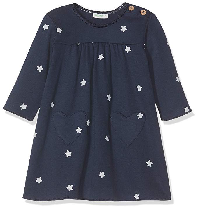 Benetton, vestido estrellas para bebes