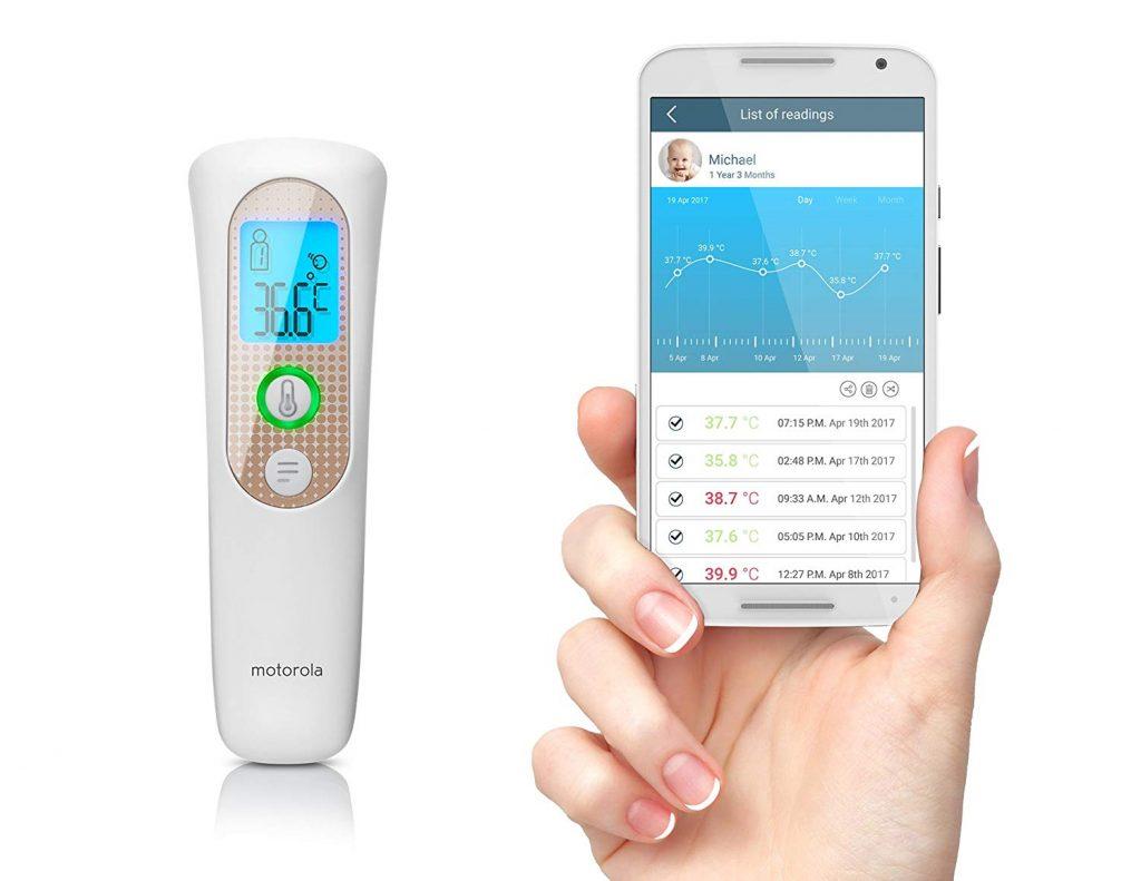termometro sin contacto inteligente