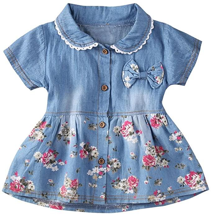 vestido vaquero para bebe