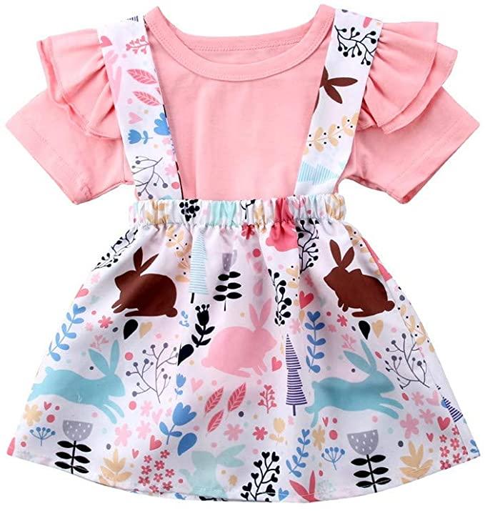vestido rosa para bebés