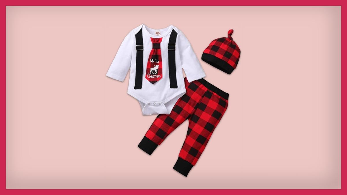 ropa de navidad para bebé