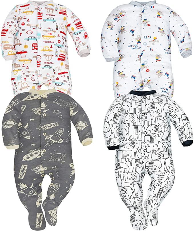 pijama para bebe algodón