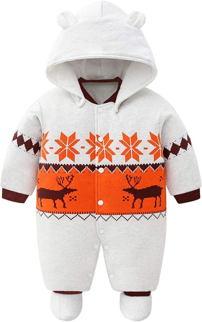 traje para la nieve para bebes