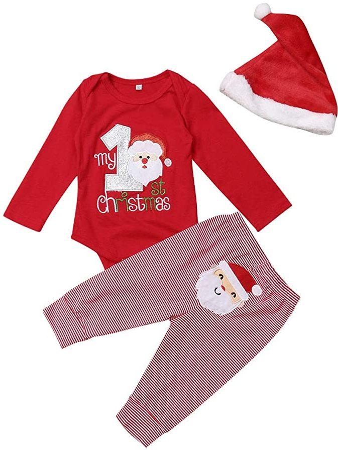 ropa de navidad para bebe